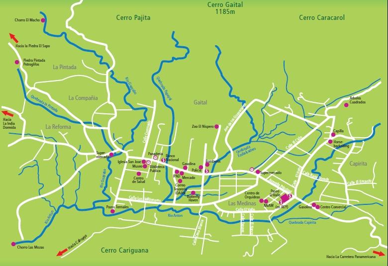 Mapa El Valle